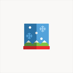 window icon flat design
