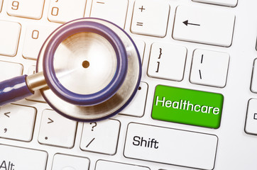 Conceptual healthcare and stethoscope