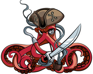 Octopus the Pirate