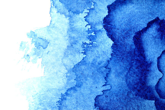 Watercolor background with stains