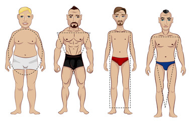 Types of male figure