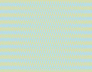 Zigzag pattern light blue on golden