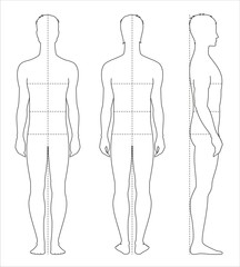 Men's body measurements