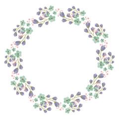 Flower frame for your design