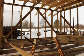 log cabin, log home construction, dovetail