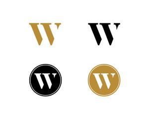 W Letter Logo Icon