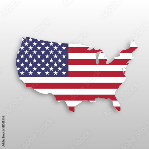 USA flag in a shape of US map silhouette. United States of ... Image Of Us Map Silhouette on georgia silhouette, red cross silhouette, north america silhouette, map of asia silhouette, virginia silhouette, canada silhouette, south america silhouette, world map silhouette, alabama silhouette, united states silhouette, japan map silhouette, wisconsin silhouette, california silhouette, globe silhouette, africa map silhouette, u.s. soldier silhouette, michigan silhouette, florida silhouette, europe map silhouette, usa states silhouette,