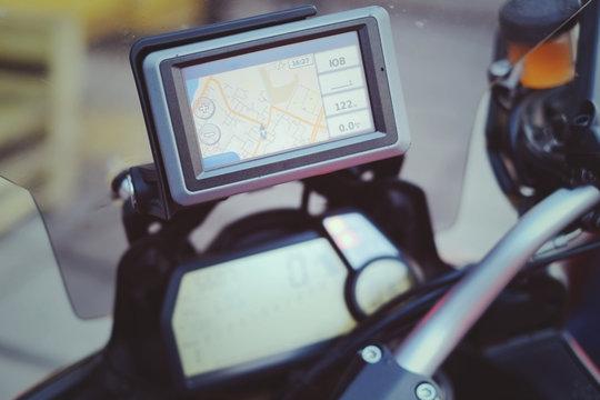 motorcycle travel gps Navigator