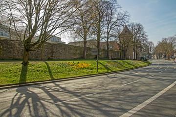 Recklinghausen Stadtmauer Altstadt Herzogswall