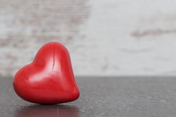Valentinstag Hintergrund mit rotem Herz