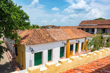 Fototapete - Colonial Buildings in Mompox