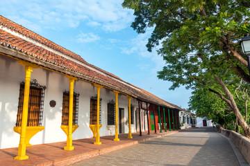 Fototapete - Colorful Architecture in Mompox