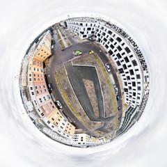 Little planet of Berlin Adlershof