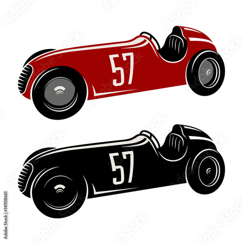 racing car vector illustration vintage sport car graphic tee stock rh fotolia com race car vector clip art race car vector clip art