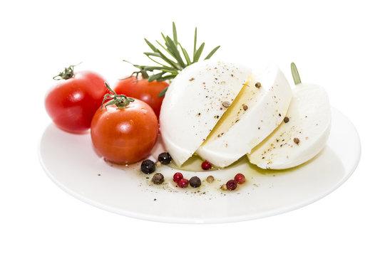 Mozzarella with rosemary