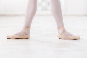 Ballerina legs in second position