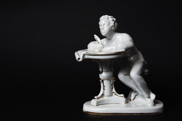 Ceramic figurine of Pushkin