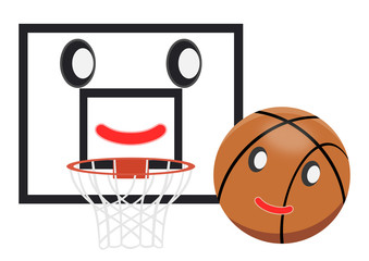 バスケットボール イメージ 擬人化