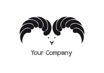 Logo business aziendale ariete