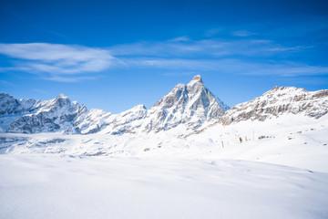 Italian Alps in the winter