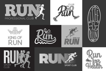 Run Professional Club. Club Go Run. Life is Run.