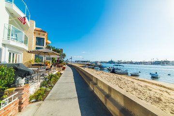 Wall Mural - Balboa island seafront