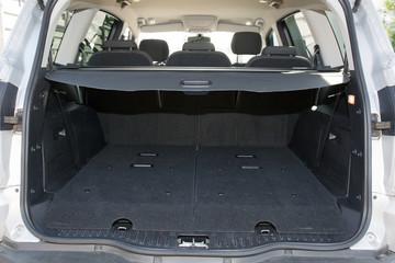trunk of a big car