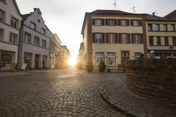 old town kempen germany