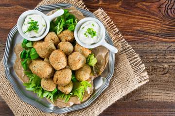 Hummus - Falafel - Produkte aus Kichererbsen