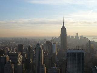 View at Empire State Building