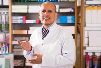male pharmacists in  farmacy