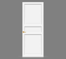 White Inner Door