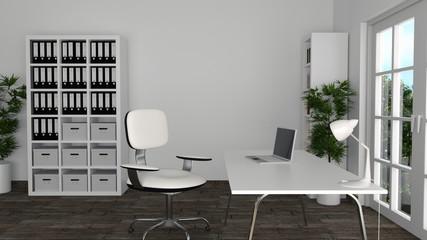 Modernes, helles Büro