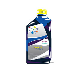 Mineral Oil Label & Branding