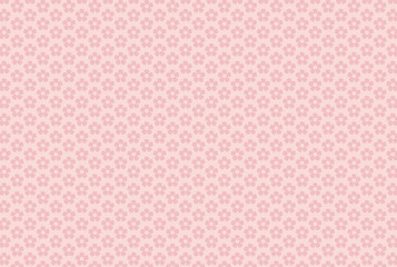 Background with little flowers in darker pink color