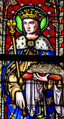 Stained Glass - Saint Louis, King of France