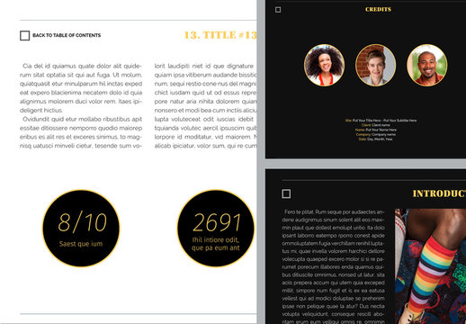 Arte Digital Magazine Layout
