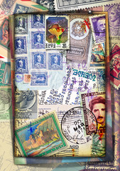 Old and vintage stamps