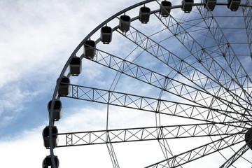 Brisbane ferris wheel is located on Southbank Parklands in Brisbane.