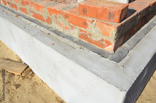 Damp Proof Membrane : Quot damp proof membrane on top of foundation walls bitumen