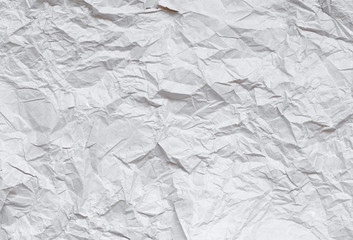 Faded Gray Crumpled Paper Stock Image Texture Background