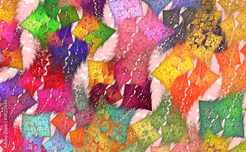 abstract funky pattern wallpaper - photo #20
