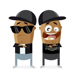 clipart of hip hop gangster rap crew