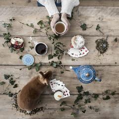 Alice in wonderland themed tea party