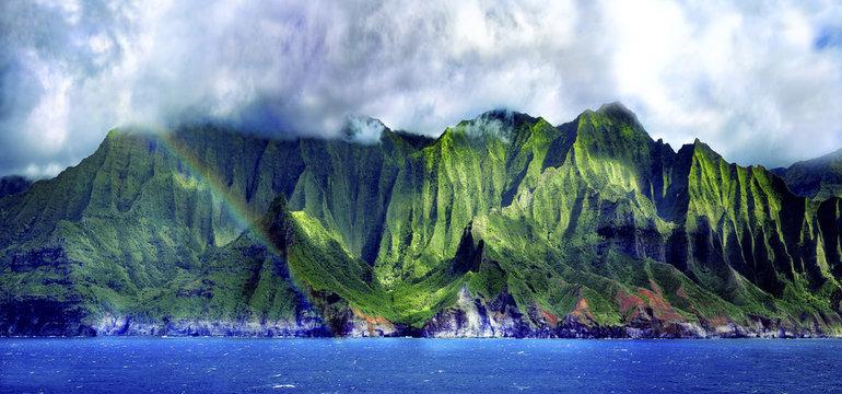 Napali Cliffs Pano