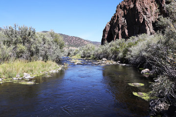Wall Mural - East Walker River in Sierra Nevada Mountains