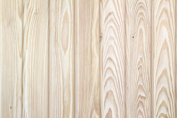 Wooden boards from boards of larch as background
