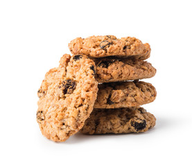 Photo sur Plexiglas Biscuit oatmeal cookies