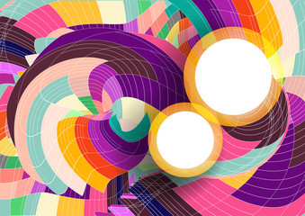 Abstract Colorful Background for Text