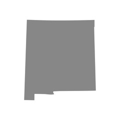 map of the U.S. state of New Mexico